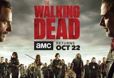 The Walking Dead: Season 8 Comic Book TV Show Poster Banner
