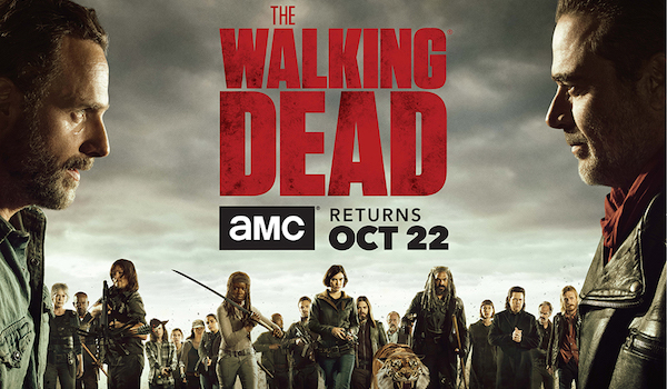 The Walking Dead: Season 8 Comic Book TV Show Poster Banner