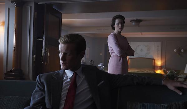 Clair Foy Matt Smith The Crown: Season 2