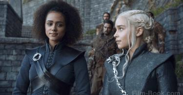 Emilia Clarke Nathalie Emmanuel Game of Thrones The Spoils of War