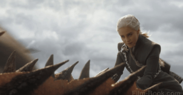 Emilia Clarke Riding Dragon Game of Thrones The Spoils of War