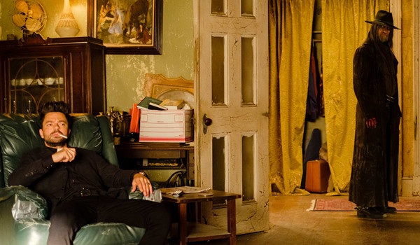 Dominic Cooper Graham McTavish Preacher On Your Knees