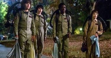 Finn Wolfhard Gaten Matarazzo Noah Schnapp Caleb McLaughlin Ghostbusters Halloween Stranger Things: Season 2