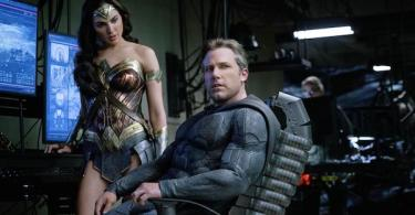 Ben Affleck Gal Gadot Justice League