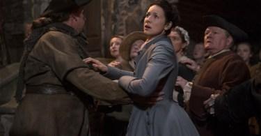 Caitriona Balfe Outlander Creme de Menthe