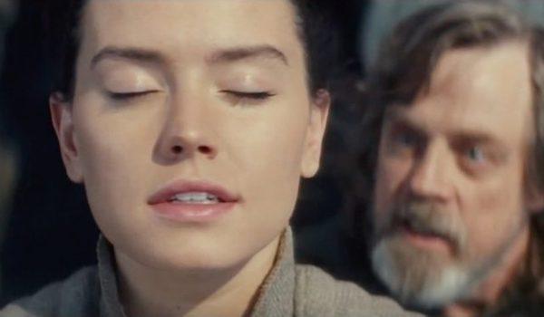 Daisy Ridley Mark Hamill Star Wars The Last Jedi