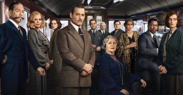 Kenneth Branagh Johnny Depp Penelope Cruz Judi Dench Michelle Pfeiffer Murder on the Orient Express