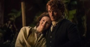 Caitriona Balfe Sam Heughan Outlander Uncharted