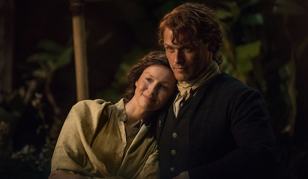 Caitriona Balfe Sam Heughan Outlander Uncharted