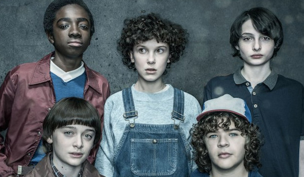 Finn Wolfhard Gaten Matarazzo Noah Schnapp Caleb McLaughlin Millie Bobby Brown Stranger Things: Season 2