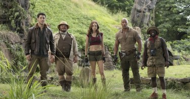 Nick Jonas Jack Black Kevin Hart Dwayne Johnson Karen Gillan Jumanji: Welcome to the Jungle