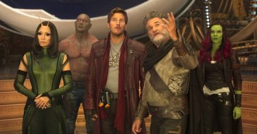 Zoe Saldana Chris Pratt Kurt Russell Dave Bautista Pom Klementieff Guardians of the Galaxy Vol. 2