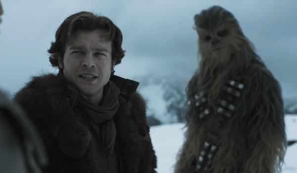 Alden Ehrenreich Joonas Suotamo Solo: A Star Wars Story