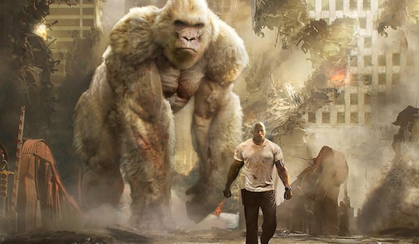 New 'Rampage' Trailer Pushes Dwayne Johnson to Save the World (Again)