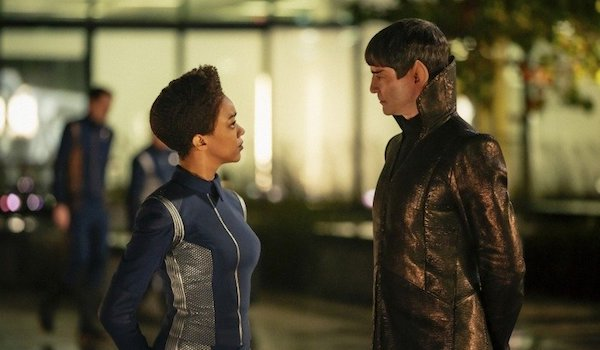 Sonequa Martin Green James Frain Star Trek Discovery