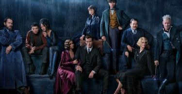 Eddie Redmayne Johnny Depp Jude Law Katherine Waterston Ezra Miller Fantastic Beasts The Crimes of Grindelwald