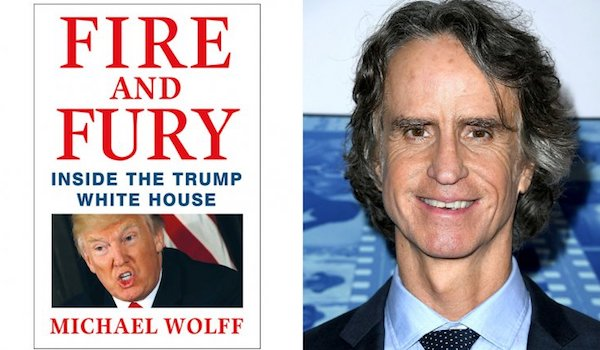 Fire and Fury Book Cover Jay Roach