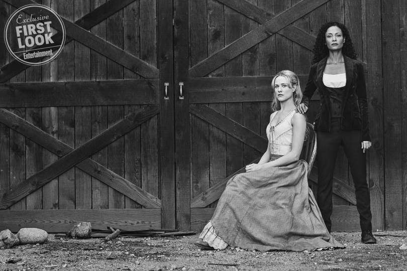 Thandie Newton Evan Rachel Wood Westworld Season 2