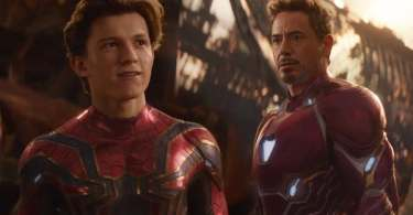 Tom Holland Robert Downey Jr Avengers Infinity War