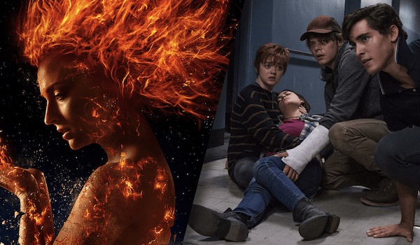 X-Men Dark Phoenix Movie Poster Maisie Williams Charlie Heaton Henry Zaga The New Mutants