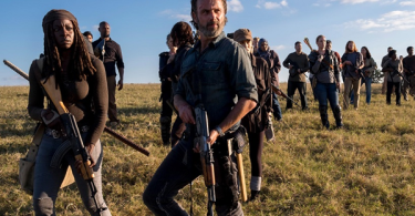 Andrew Lincoln Danai Gurira The Walking Dead Wrath