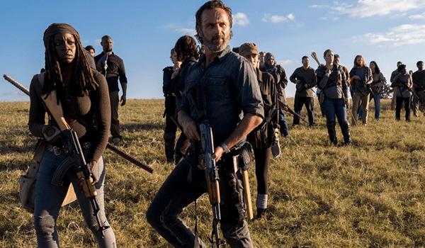 Andrew Lincoln Danai Gurira The Walking Dead Wrath