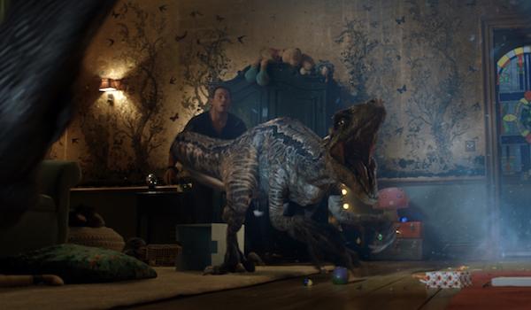Chris Pratt Blue Jurassic World Fallen Kingdom