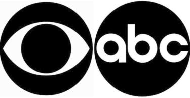 CBS ABC Logos