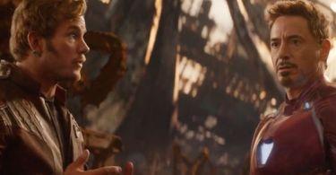 Chris Pratt Robert Downey Jr. Avengers Infinity War