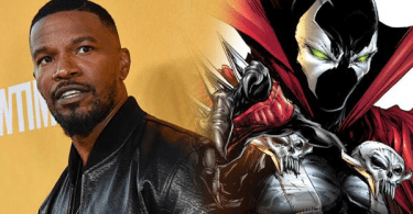 Jamie Foxx Spawn Comic Book