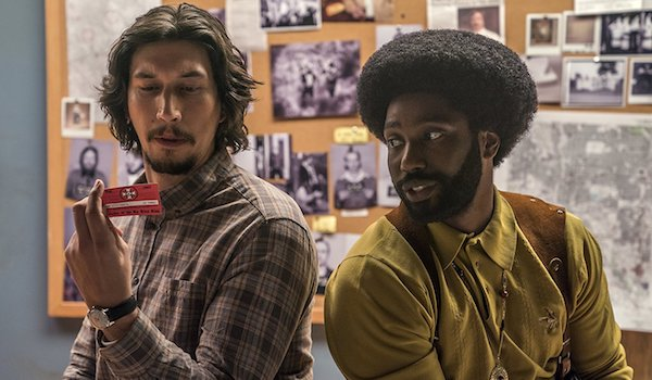 John David Washington Adam Driver BlacKkKlansman