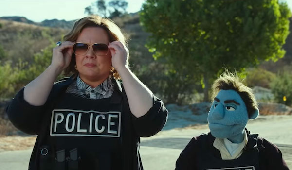 THE HAPPYTIME MURDERS (2018) Red Band Movie Trailer: Melissa McCarthy Investigates Puppet Killings