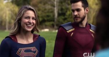 Melissa Benoist Chris Wood Supergirl Not Kansas