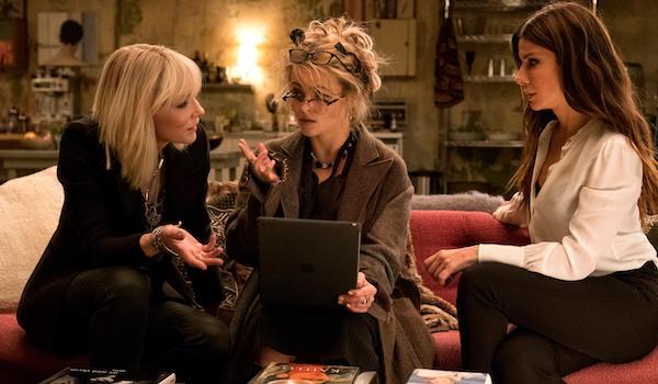 Sandra Bullock Cate Blanchett Helena Bonham Carter Oceans 8