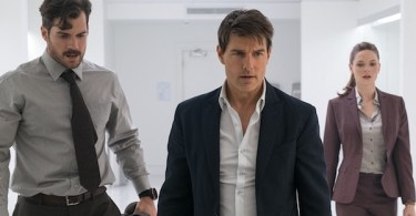 Henry Cavill Tom Cruise Rebecca Ferguson