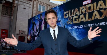 James Gunn Guardians of the Galaxy Premiere