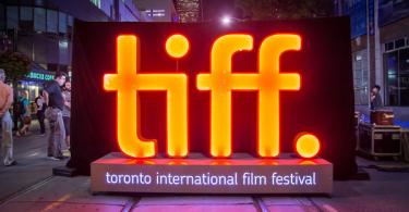 Toronto International Film Festival Light Sign Logo