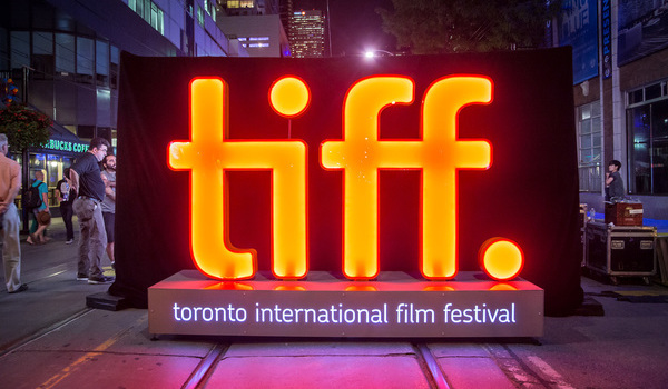 Toronto International Film Festival Light Sign Logo