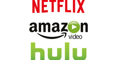 Netflix Amazon Hulu Logos