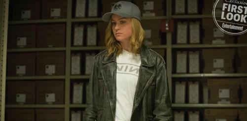 Brie Larson Captain Marvel Entertainment Weekly September 2018