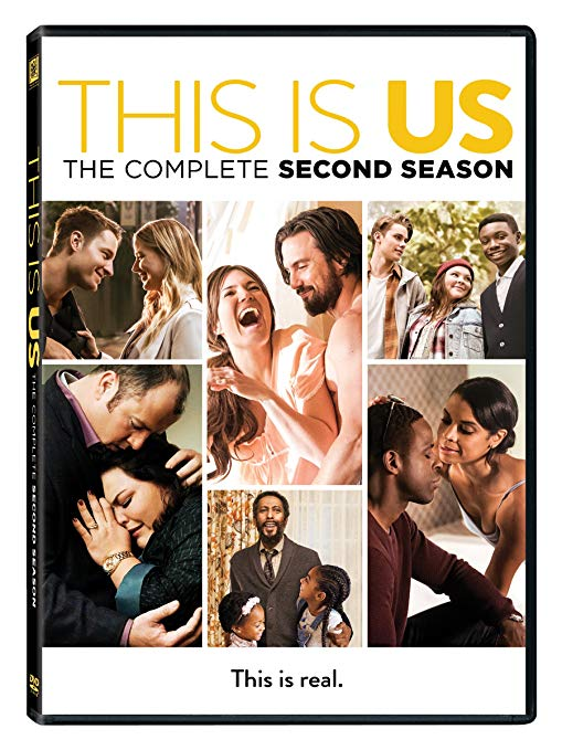 This is Us Season 2 DVD Cover