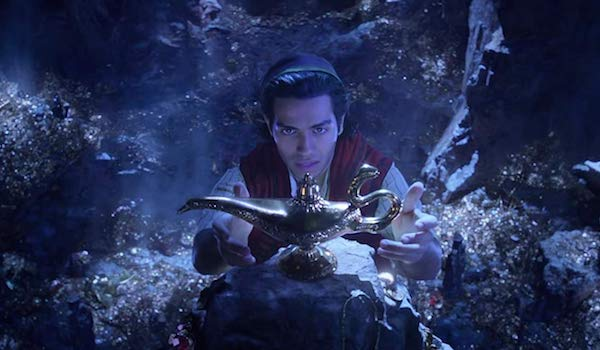 ALADDIN (2019) Teaser Trailer: Mena Massoud Finds the Magic Lamp Containing Will Smith