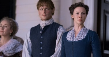 Maria Doyle Kennedy Sam Heughan Caitriona Balfe Outlander Do No Harm