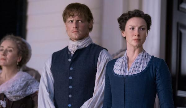 Maria Doyle Kennedy Sam Heughan Caitriona Balfe Outlander Do No Harm