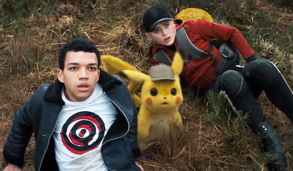 POKÉMON DETECTIVE PIKACHU (2019) Movie Trailer: Ryan Reynolds is Pikachu in Warner Bros.'s Live-action Film