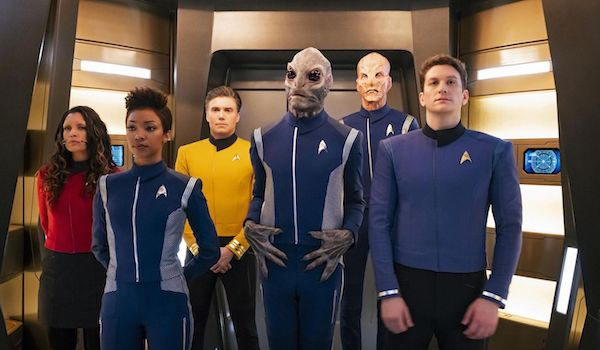 Anson Mount Sonequa Martin-Green Doug Jones Star Trek Discovery Season 2