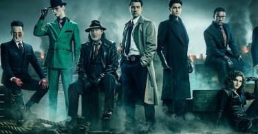 Ben McKenzie Donal Logue David Mazouz Sean Pertwee Robin Lord Taylor Gotham Season 5