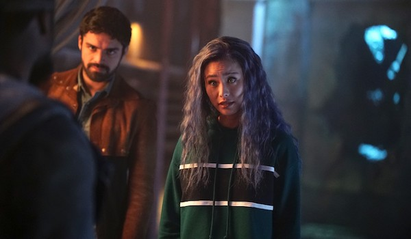 Jamie Chung Sean Teale The Gifted meMento