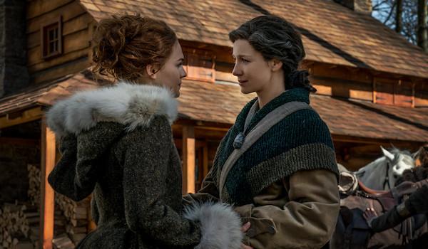 Sophie Skelton Caitriona Balfe Outlander The Deep Heart's Core