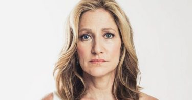 Edie Falco White Dress
